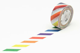 Washi lepilni trak - KID colorful strip