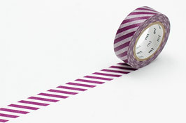 Washi lepilni trak - stripe purple