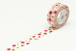 Washi lepilni trak - KID motif flower