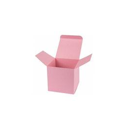 Darilna škatlica - Cube S - v roza barvi