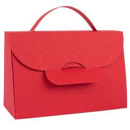 Darilna škatlica - torbica - v barvi magente