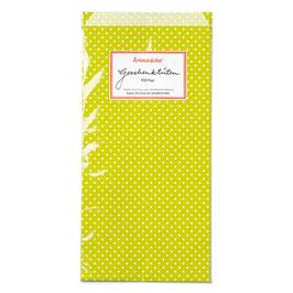 Papirnate vrečice - zelene z belimi pikicami