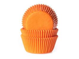 Papirčki za mafine - oranžni