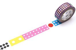 Washi lepilni trak - Kapitza Polka Dot Ice