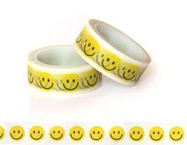 Washi lepilni trak - smiley
