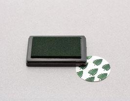 Blaznica z barvo - temno zelena