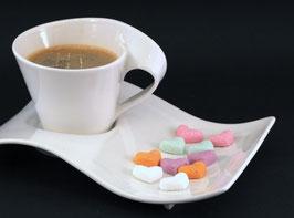 Zuckerherzen in verschiedenen Farben 50 Stück