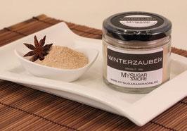 Winterzauber 80g im Glas (Inhalt: Zucker, Vanille, Tonkabohne, Sternanis)
