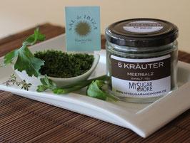 5 Kräuter-Meersalz 100g im Glas