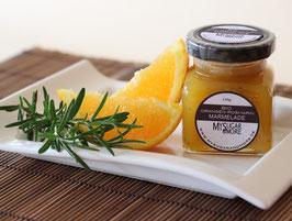 Orangen-Rosmarin Marmelade 100g im Glas