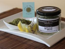 Thymian-Zitronen Meersalz 100g im Glas