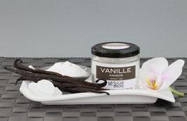 Weißer Vanillekandis 100g im Glas (Inhalt: Kandis, Vanille)