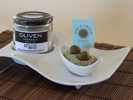 Olivenmeersalz 100g im Glas