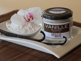 Vanillezucker 100g im Glas (Inhalt: Zucker, Bourbonvanille)