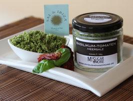 Basilikum-Tomatenmeersalz 100g im Glas