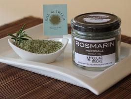 Rosmarinmeersalz 100g im Glas