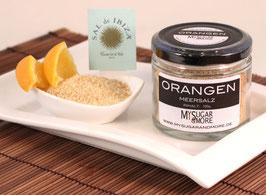 Orangen-Meersalz 100g im Glas