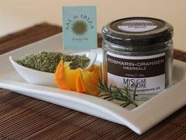 Rosmarin-Orangenmeersalz 100g im Glas