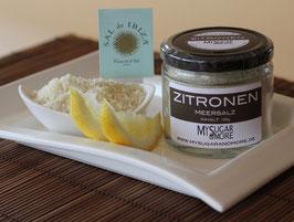 Zitronenmeersalz im Glas 100g