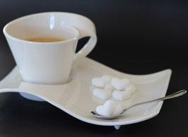 Zuckerherzen weiß, 50 Stück im Beutel