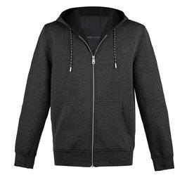 PHC Sport Hooded Sweatshirt in Grau mit Reissverschluss