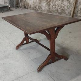 Table de taverne en chêne massif d'époque arts nouveaux
