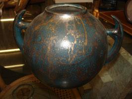 Vase boule signé Léon Pointu 1930