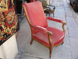 Gros fauteuil de malade époque Louis Philippe