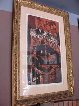 Lithographie d'Antoni Clavé numérotée et signée
