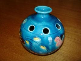 Vase boule et pique fleurs en céramique vers 1950 signé A.MAUNIER