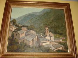 Tableau Huile sur toile de Michel BRION 'Fontpédrouse'