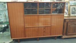 Grand Cabinet de travail par Gaston Poisson vers 1950 en teck Nom du produit