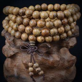 Mala avec grains de bois ornementales Uni - sandal wood