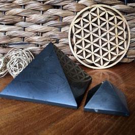 Pyramide de Shungite - Différentes tailles