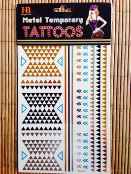 TATOUAGES DORE  EPHEMERES - figure tribale