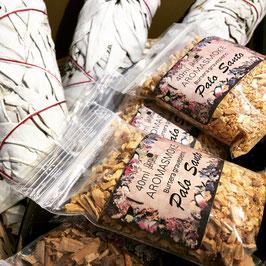 Palo Santo GRANULES d'encens en sachet de 40 ml