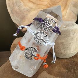 Bracelets ARBRE de vie - plusieurs couleurs disponibles