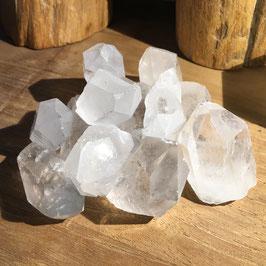 Cristal de roche en pointe - Mini pièce