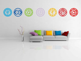 CHAKRA  - Decal Vinyl - kit de 7 couleurs