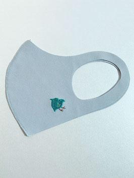 お守りマスク(ちどり緑)ーC03