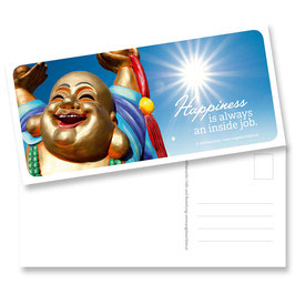 "Postkarte ""Happiness"""