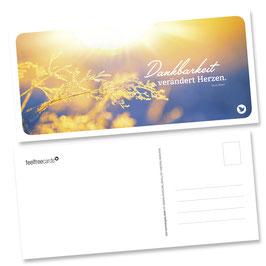 """Postkarte """"Dankbarkeit"""""""
