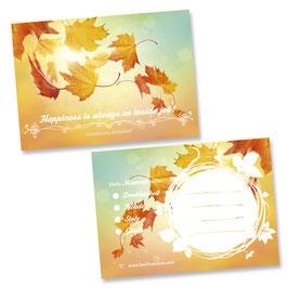 """Glücksnotiz-Blättchen® """"Falling Leaves"""""""