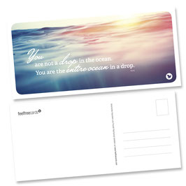 "Postkarte ""Ocean"""