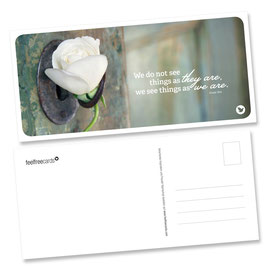 """Postkarte """"Things"""""""