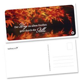 "Postkarte ""Stille"""