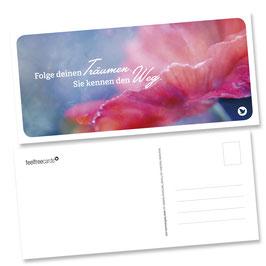 """Postkarte """"Träume"""""""
