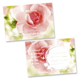 """Glücksnotiz-Blättchen® """"Inspiring Roses"""""""