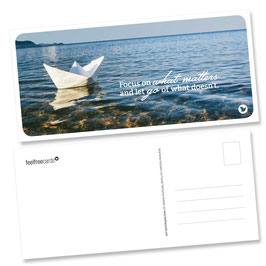"Postkarte ""Focus"""
