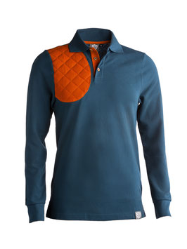 summer blue / orange - herren - langarm